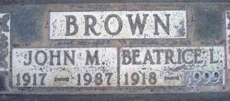 BROWN, BEATRICE LOUISE - Sutter County, California | BEATRICE LOUISE BROWN - California Gravestone Photos