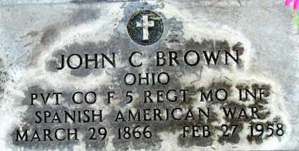 BROWN, JOHN C. - Sutter County, California   JOHN C. BROWN - California Gravestone Photos