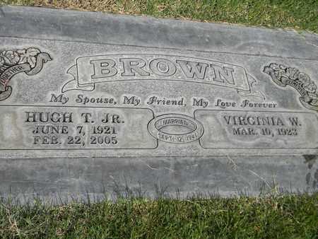 BROWN, VIRGINIA W. - Sutter County, California   VIRGINIA W. BROWN - California Gravestone Photos