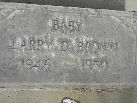 BROWN, LARRY DALE - Sutter County, California | LARRY DALE BROWN - California Gravestone Photos