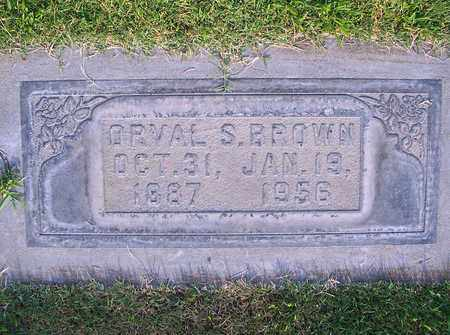 BROWN, ORVAL S. - Sutter County, California | ORVAL S. BROWN - California Gravestone Photos