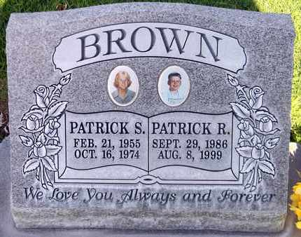 BROWN, PATRICK SEAN - Sutter County, California | PATRICK SEAN BROWN - California Gravestone Photos