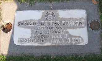 BROWN, SAMMIE JUNIOR - Sutter County, California | SAMMIE JUNIOR BROWN - California Gravestone Photos