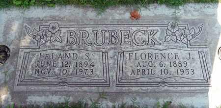 BRUBECK, FLORENCE J. - Sutter County, California | FLORENCE J. BRUBECK - California Gravestone Photos