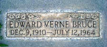 BRUCE, EDWARD VERNE - Sutter County, California   EDWARD VERNE BRUCE - California Gravestone Photos