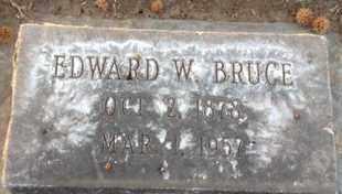 BRUCE, EDWARD WILCOXON - Sutter County, California   EDWARD WILCOXON BRUCE - California Gravestone Photos