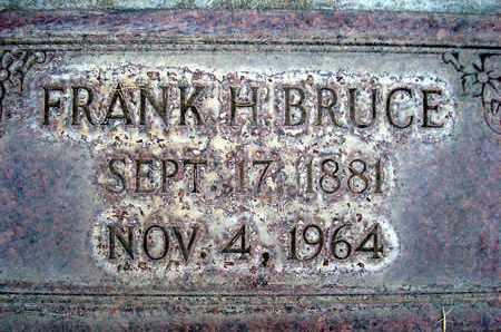 BRUCE, FRANK H. - Sutter County, California | FRANK H. BRUCE - California Gravestone Photos