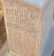 BRUCE, HENRY AARON - Sutter County, California | HENRY AARON BRUCE - California Gravestone Photos