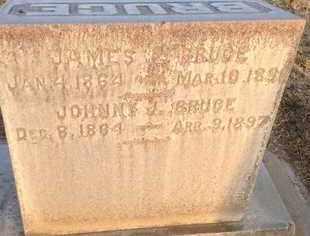BRUCE, JOHNNY J. - Sutter County, California   JOHNNY J. BRUCE - California Gravestone Photos