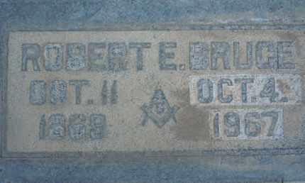 BRUCE, ROBERT EDWIN - Sutter County, California | ROBERT EDWIN BRUCE - California Gravestone Photos
