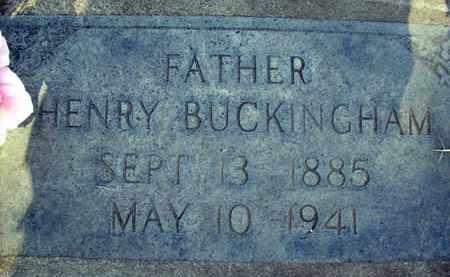 BUCKINGHAM, HENRY - Sutter County, California   HENRY BUCKINGHAM - California Gravestone Photos