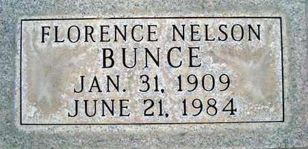 BUNCE, FLORENCE NELSON - Sutter County, California | FLORENCE NELSON BUNCE - California Gravestone Photos