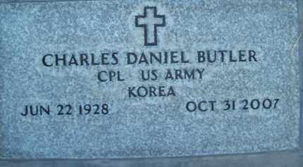 BUTLER, CHARLES DANIEL - Sutter County, California | CHARLES DANIEL BUTLER - California Gravestone Photos
