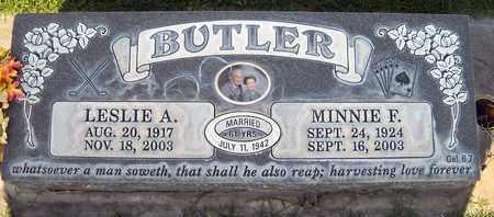 BUTLER, MINNIE FRANCES - Sutter County, California | MINNIE FRANCES BUTLER - California Gravestone Photos