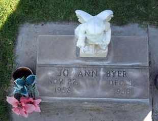 BYER, JO ANN - Sutter County, California | JO ANN BYER - California Gravestone Photos