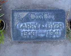 BYER, LARRY CLIFFORD - Sutter County, California | LARRY CLIFFORD BYER - California Gravestone Photos