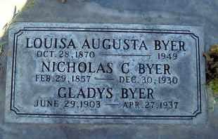 BYER, NICKOLUS C. - Sutter County, California   NICKOLUS C. BYER - California Gravestone Photos