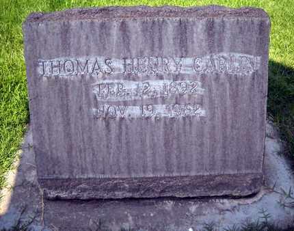 CARLIN, SR., THOMAS HENRY - Sutter County, California   THOMAS HENRY CARLIN, SR. - California Gravestone Photos