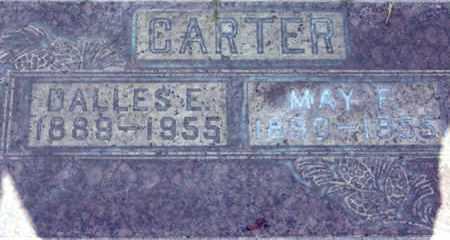 CARTER, DALLAS E. - Sutter County, California | DALLAS E. CARTER - California Gravestone Photos