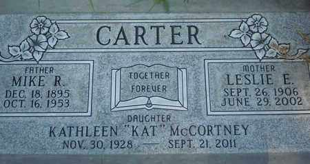 CARTER MCCORTNEY, ELSIE KATHLEEN - Sutter County, California | ELSIE KATHLEEN CARTER MCCORTNEY - California Gravestone Photos