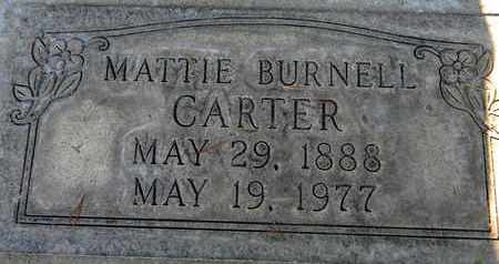 CARTER, MATTIE BURNELL - Sutter County, California | MATTIE BURNELL CARTER - California Gravestone Photos