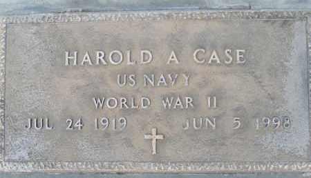 CASE, HAROLD ALLISON - Sutter County, California | HAROLD ALLISON CASE - California Gravestone Photos