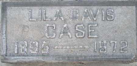 CASE, LILA ELIZABETH DAVIS - Sutter County, California | LILA ELIZABETH DAVIS CASE - California Gravestone Photos
