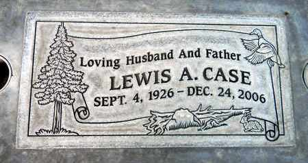 CASE, LEWIS AUGUSTUS - Sutter County, California | LEWIS AUGUSTUS CASE - California Gravestone Photos