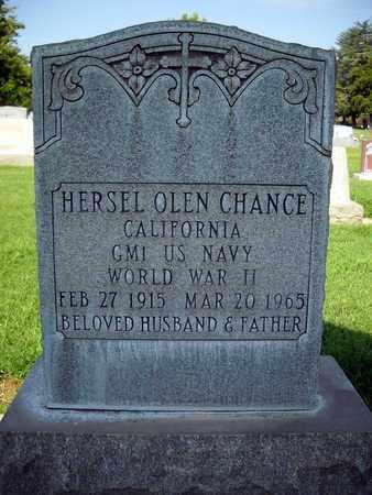 CHANCE, HERSEL OLEN - Sutter County, California | HERSEL OLEN CHANCE - California Gravestone Photos