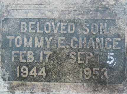 CHANCE, TOMMY EUGENE - Sutter County, California | TOMMY EUGENE CHANCE - California Gravestone Photos
