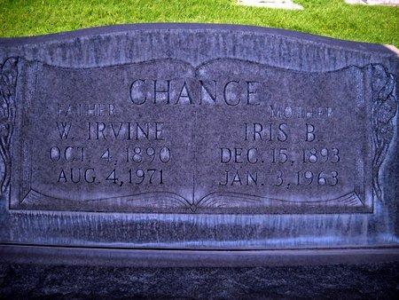 CHANCE, IRIS BIRD - Sutter County, California | IRIS BIRD CHANCE - California Gravestone Photos