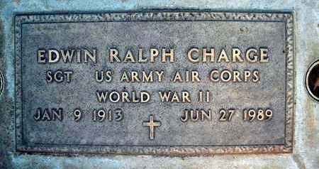 CHARGE, EDWIN RALPH - Sutter County, California | EDWIN RALPH CHARGE - California Gravestone Photos