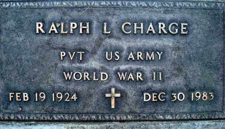 CHARGE, RALPH LEROY - Sutter County, California | RALPH LEROY CHARGE - California Gravestone Photos