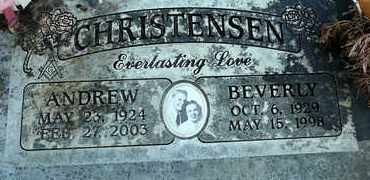 CHRISTENSEN, ANDREW EUGENE - Sutter County, California | ANDREW EUGENE CHRISTENSEN - California Gravestone Photos