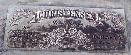 CHRISTENSEN, LEE ROY EDWIN - Sutter County, California   LEE ROY EDWIN CHRISTENSEN - California Gravestone Photos