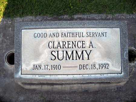 CLARENCE AARON, SUMMY - Sutter County, California | SUMMY CLARENCE AARON - California Gravestone Photos