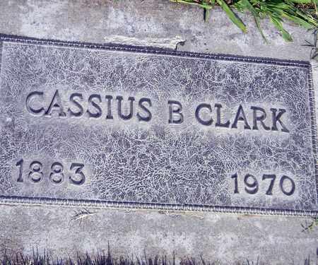 CLARK, CASSIUS B. - Sutter County, California | CASSIUS B. CLARK - California Gravestone Photos