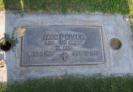 CLARK, JACK FAY - Sutter County, California | JACK FAY CLARK - California Gravestone Photos