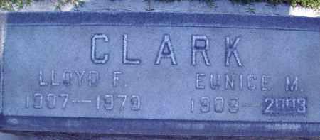 CLARK, LLOYD FRANKLIN - Sutter County, California | LLOYD FRANKLIN CLARK - California Gravestone Photos