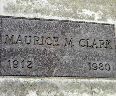 CLARK, MAURICE MARCY - Sutter County, California | MAURICE MARCY CLARK - California Gravestone Photos