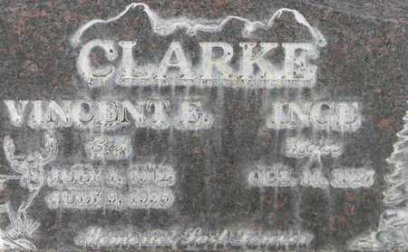 CLARKE, VINCENT EDWARD - Sutter County, California   VINCENT EDWARD CLARKE - California Gravestone Photos