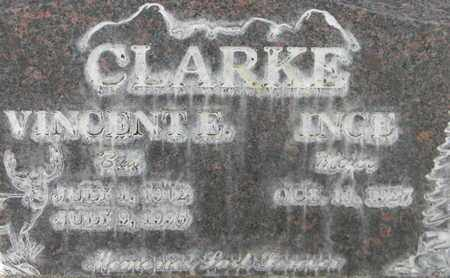 CLARKE, VINCENT EDWARD - Sutter County, California | VINCENT EDWARD CLARKE - California Gravestone Photos