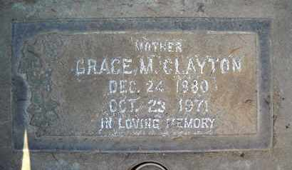CLAYTON, GRACE MARY - Sutter County, California | GRACE MARY CLAYTON - California Gravestone Photos