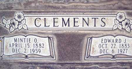 CLEMENTS, EDWARD JOSEPH - Sutter County, California   EDWARD JOSEPH CLEMENTS - California Gravestone Photos
