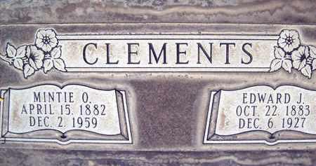 CLEMENTS, EDWARD JOSEPH - Sutter County, California | EDWARD JOSEPH CLEMENTS - California Gravestone Photos