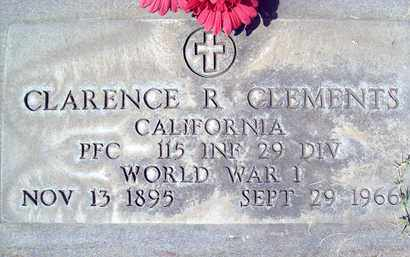 CLEMENTS, CLARENCE R. - Sutter County, California | CLARENCE R. CLEMENTS - California Gravestone Photos