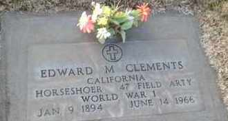 CLEMENTS, EDWARD MARION - Sutter County, California   EDWARD MARION CLEMENTS - California Gravestone Photos