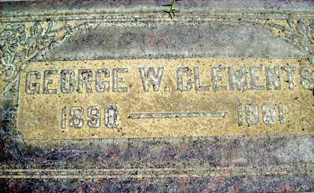 CLEMENTS, GEORGE W. - Sutter County, California | GEORGE W. CLEMENTS - California Gravestone Photos