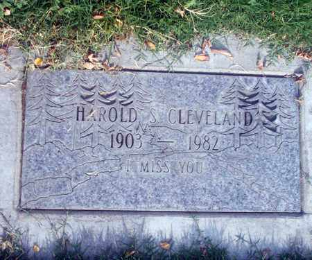 CLEVELAND, HAROLD S. - Sutter County, California | HAROLD S. CLEVELAND - California Gravestone Photos
