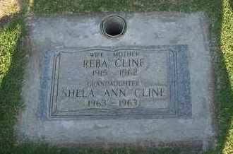 CLINE, REBA GARNETT - Sutter County, California | REBA GARNETT CLINE - California Gravestone Photos
